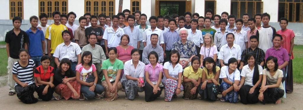 Bible College Students in Myanmar